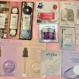 10 Piece, women's luxe sample lot, fresh, tatcha
